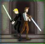 Luke and Kyle Katarn-By zimeta by LukeSkywalkerFans