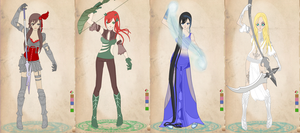 WM as MMORPG classic!Starters by OperaticAnimeNimue