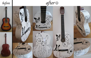 Bambi Guitar by miss-annamore