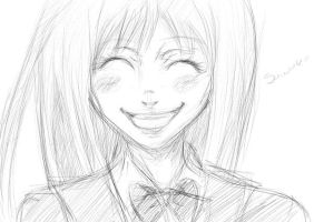 Sawako sketch by PurpleAmethyst333