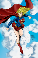 Supergirl  Colours by RobsonPires