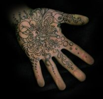 Hand Ink 2 by Homeplanet