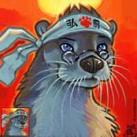 otter of the rising sun by kattything