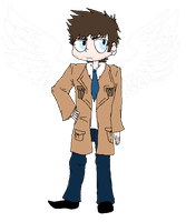 .:Castiel:. by Potato-Kitten
