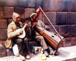 Typical Street Musicians by Sorello