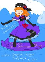 I HERD YOU LIEK LOLIS SURFING by Eva-Beatrice