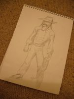 Sketchbook 3- Cowboy by Will1885
