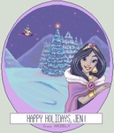 Jasmine in a Winter Wonderland by LadyHazy