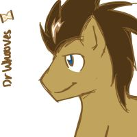 Dr Whooves by KuroRyukage