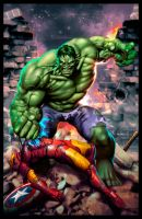 HULK - Green Rage by Valzonline