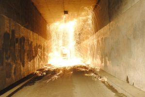 The tunnels on fire by LachlanF