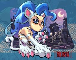 Little Darkstalker :: Felicia by Red-J