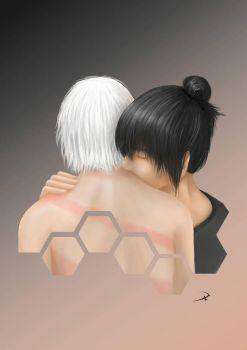 Nezumi and Shion  by DanielaLuther