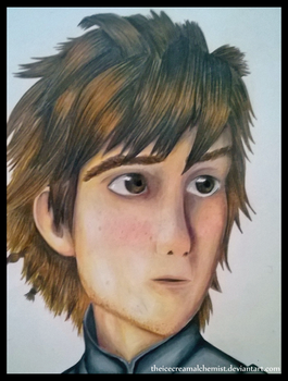 Hiccup (re-upload) - How To Train Your Dragon 2 by TheIcecreamAlchemist