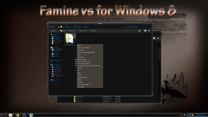 FAMINE vs port (free) for Windows8 by RaymonVisual