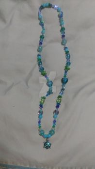 (updated! again) the bead dazzled turtle necklace by BethSchniederoficial
