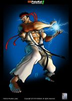 Street Fighter Ryu by patokali