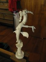 Discord statue pre-painting phase by AleximusPrime