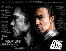 Fight Club - flashback by emme