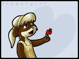 Flower Girl by masonmouse