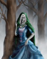 Drizzt_forest by SiberianCat