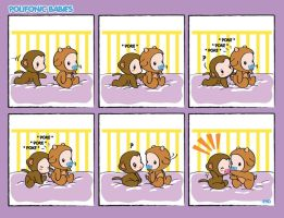Comic strip Polifonic Babies 3 by momo81