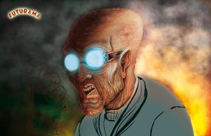 Professor Farnsworth_process by IsaacMontoya