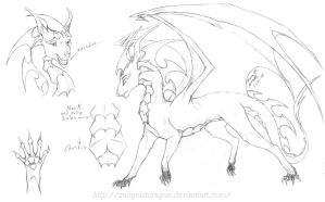 Draico Redesign  by ZeitgeistDragon