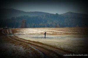 Ice walking by Natasek
