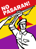 International Brigades Poster by Party9999999
