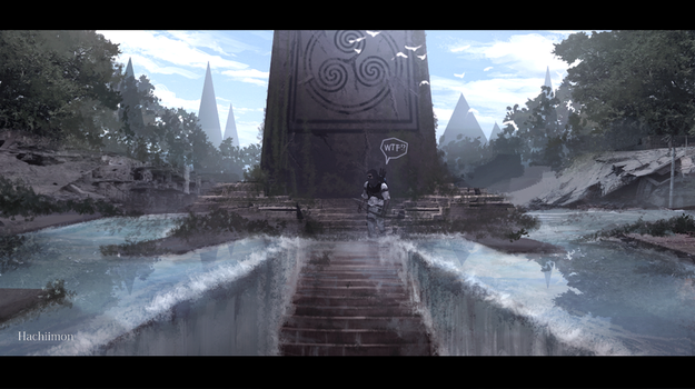 The Entrance by Hachiimon