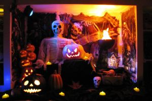 Halloween Display by jimathers