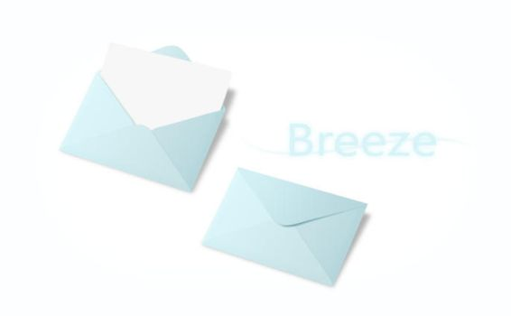 Breeze envelope by E-young