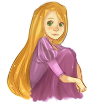 Tangled - Rapunzel by Nani-Mi