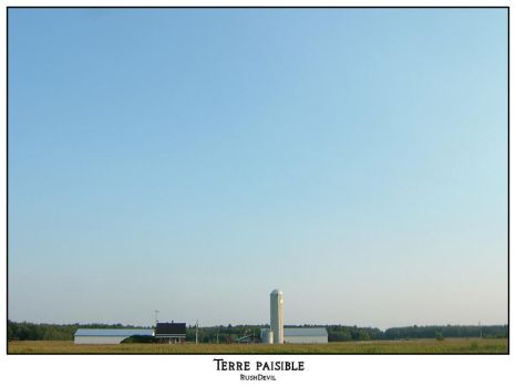 Terre paisible by RushDevil