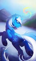 Snow_Sailor by antiander-art