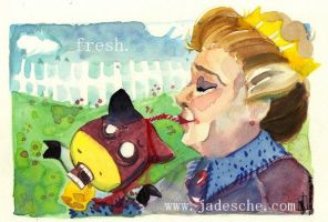 It's fresh says the queen by merit