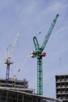 Tower crane over Kings Cross by Greattie
