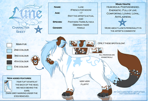 .:Lune:. Reference sheet 2012-2013 by LuneTheTiger