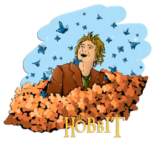 The Hobbit - Bilbo Baggins by x-Alexiel-x