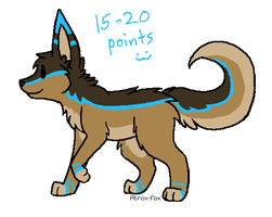 Pixel Puppy adopt CLOSED by Atrox-Fox