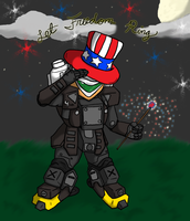 Happy 4th Heavy gear style by SunFireDemon