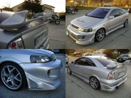 Opel Astra tuning by waste84
