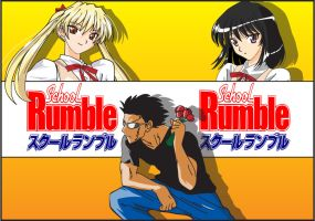 School Rumble Wallpaper by Dee-Pathirana