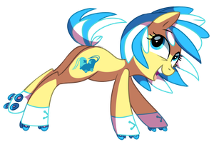 Ring Runner 4 - Pony OC by pepooni