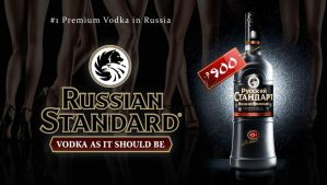 RUSSIAN STANDARD VODKA by nikolaihoe27