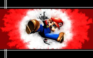 Mario bustin out by PsyXel