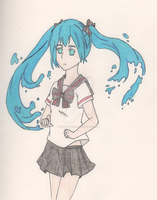 Miku Hatsune (Bottle) by SwiftNinja91