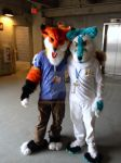 Sunni The Fox and ZAereo by JAZZERDAWG