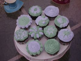cupcakes by OliveDrop